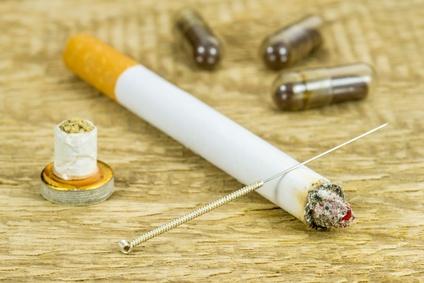 Akupunktur gegen Rauchen